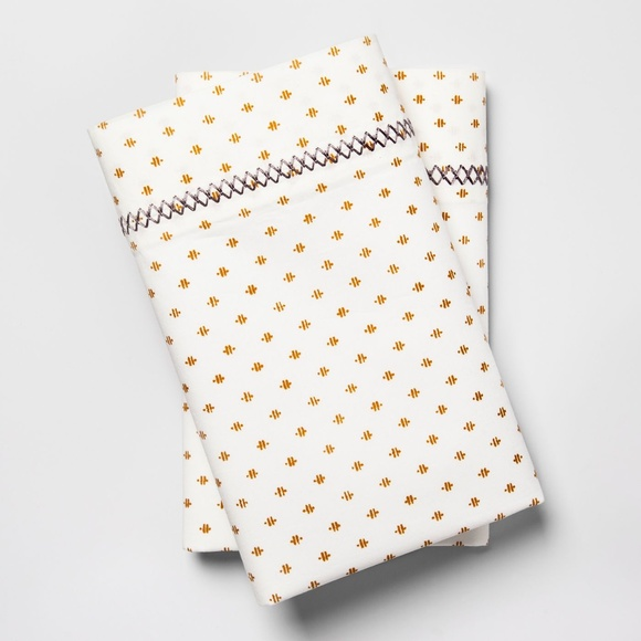 2 Opalhouse Print Percale Pillowcase Set